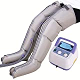 NYPB Masajeador de Pies y Piernas Aire Compresión Massager, Maquina de Presoterapia Profesional Completa Presión Ajustable Función de Temporización, Previene Varices,Package c